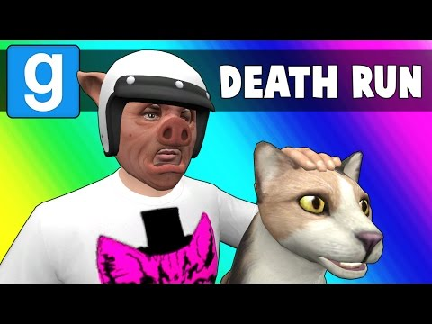 Thumbnail: Gmod Deathrun Funny Moments - CAT FIGHT! (Garry's Mod)