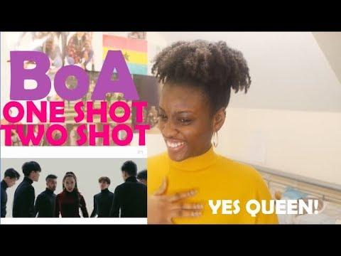 BoA 보아  ONE SHOT, TWO SHOT MV REACTION THE GODDESS IS BACK!