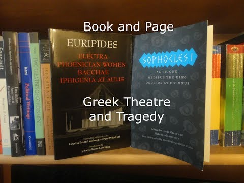 Book and Page: Greek Theatre and Tragedy