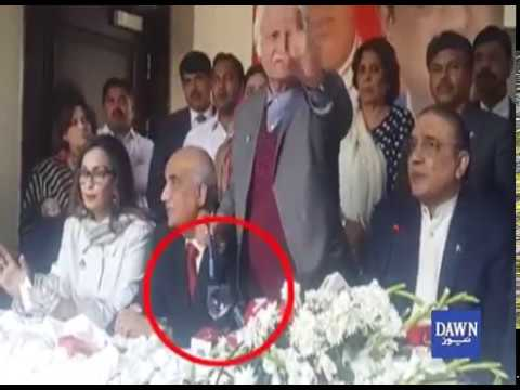 Funny Moments During Asif Zardari Press Conference