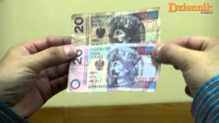 Jak rozpoznać fałszywy banknot