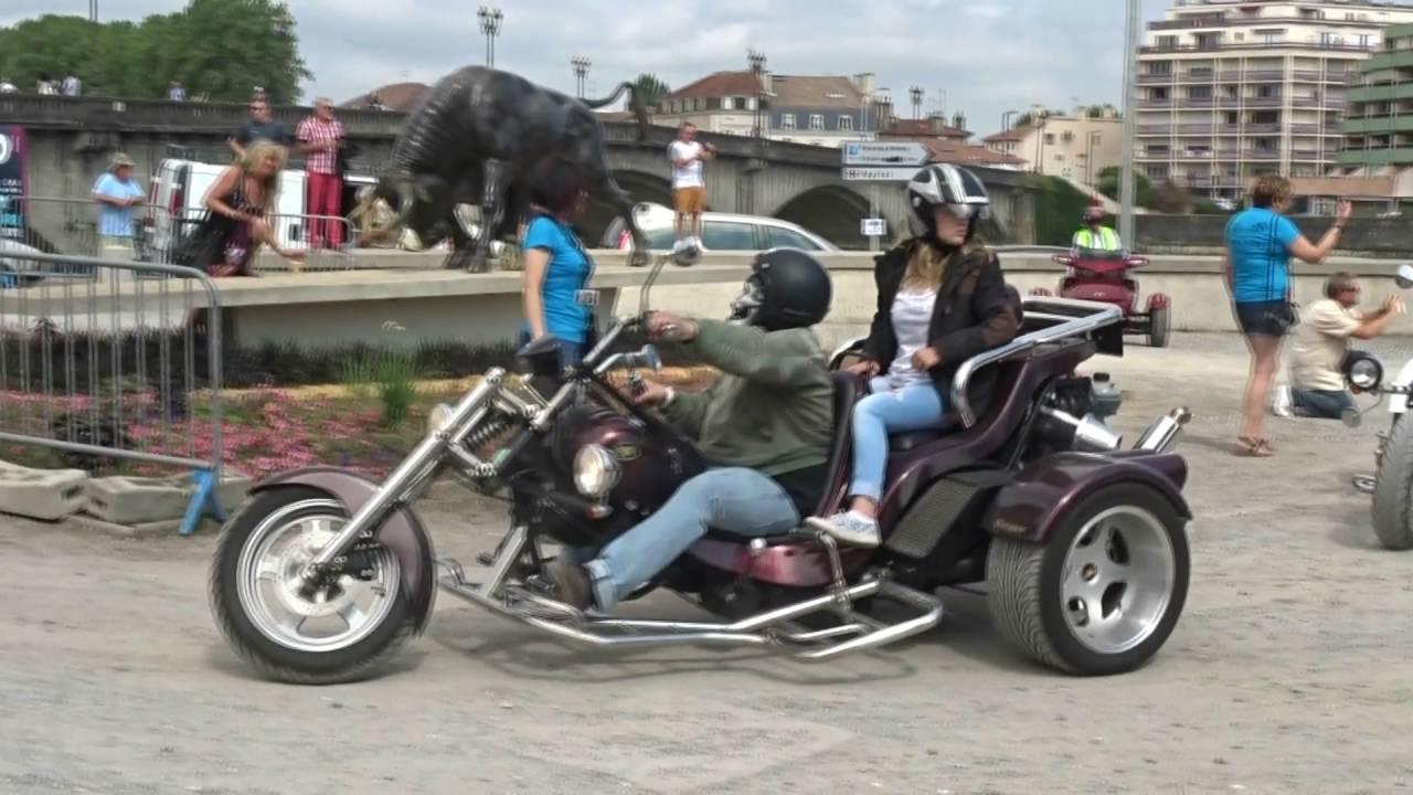 Parade Motos -  Dax Motors'n Blues 10 juillet 2016