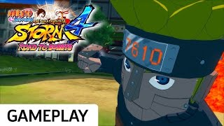 Mecha-Naruto vs. Sasuke - Naruto Shippuden: Ultimate Ninja Storm 4 Road to Boruto Gameplay