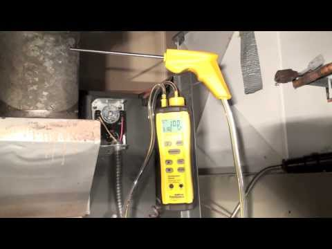 Combustion Testing Of The Oil Furnace Part 2