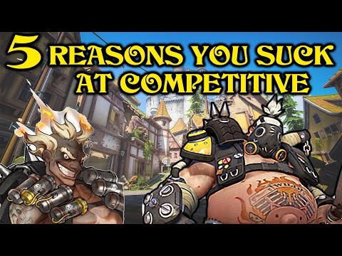 5 Reasons You Suck At Competitive Overwatch (Season 3)