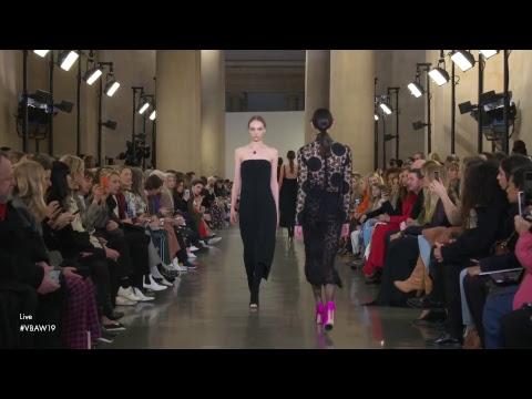 Victoria Beckham | Autumn Winter 2019 - London Fashion Week Live