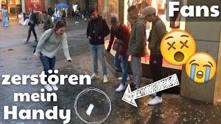 LIVE EXPERIMENT - Fans zerstören mein Handy ! :O | BibisBeautyPalace