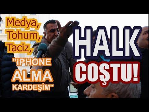 HALK COŞTU - ANTALYA'DA 31 MART YEREL SEÇİMLERİ SOKAK RÖPORTAJLARI - 3. KISIM