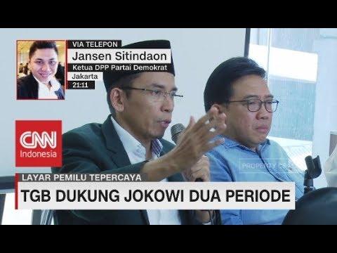 Partai Demokrat: Dukungan TGB ke Jokowi Bukan Permintaan SBY