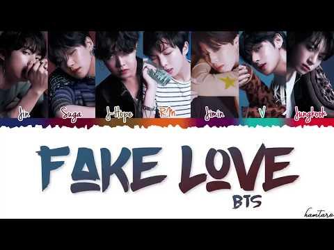 BTS (방탄소년단) - 'FAKE LOVE' Lyrics (Easy Lyrics)