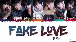 Video BTS (방탄소년단) - 'FAKE LOVE' Lyrics (Easy Lyrics) download MP3, 3GP, MP4, WEBM, AVI, FLV Juli 2018