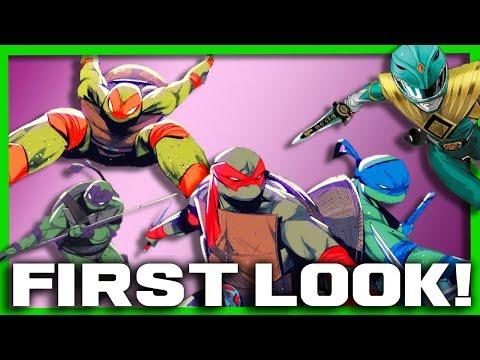 Power Rangers/Ninja Turtles Crossover FIRST LOOK! - Tommy VS Raphael?!