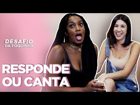 IZA CANTA MC LOMA E RESPONDE: MAIOR PORRE, NUDES, PIOR LOOK... | Foquinha