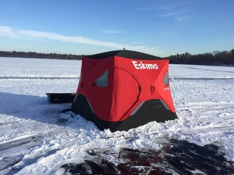 Lake Harriet ~ Ice Fishing Setup W/ Equipment Needed ~ Minneapolis Minnesota