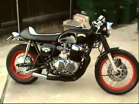 Cafe Racer At Home Cb750 Honda