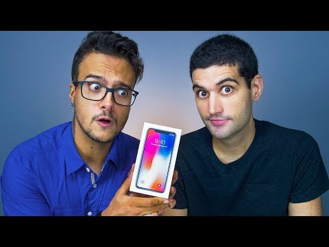 iPhone X, vale a pena ser TÃO CARO? - Unboxing iPhone X