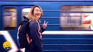 เที่ยว Moscow Metro สถานีรถไฟใต้ดินที่สวยที่สุดในโลก | เที่ยวรัสเซีย【17】 | Russia