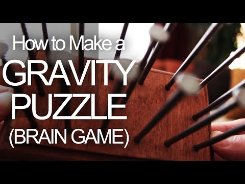 How to Make a Gravity Puzzle (Brain Game)