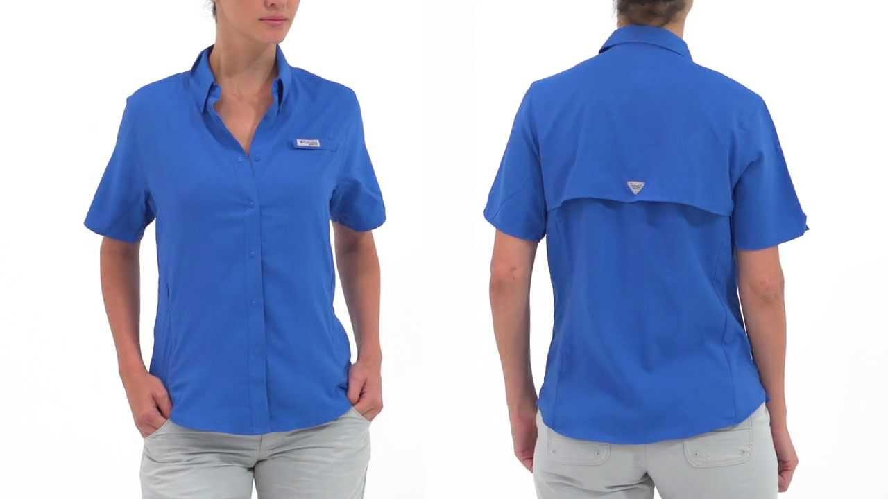 Columbia Women s Tamiami II Short Sleeve Shirt - YouTube 991303d45591e