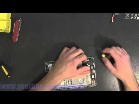 ASUS Google Nexus 7 1st Generation take apart