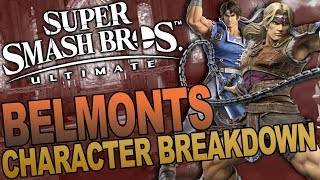 Simon/Richter Belmont - Frame Data and Early Competitive Breakdown by Mew2King!