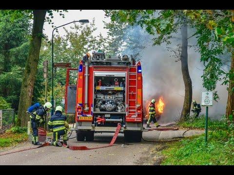 Tractor brand volledig af in Nistelrode