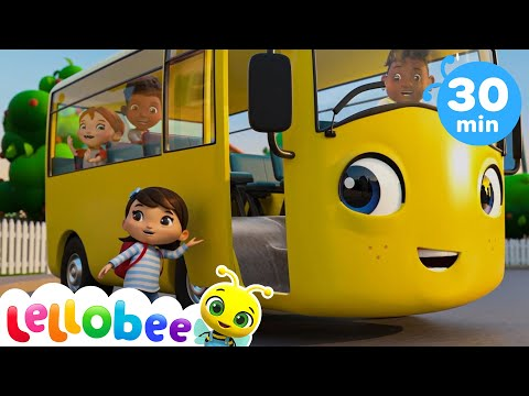 Going Back to School Song | +More Nursery Rhymes & Kids Songs - ABCs and 123s | Little Baby Bum