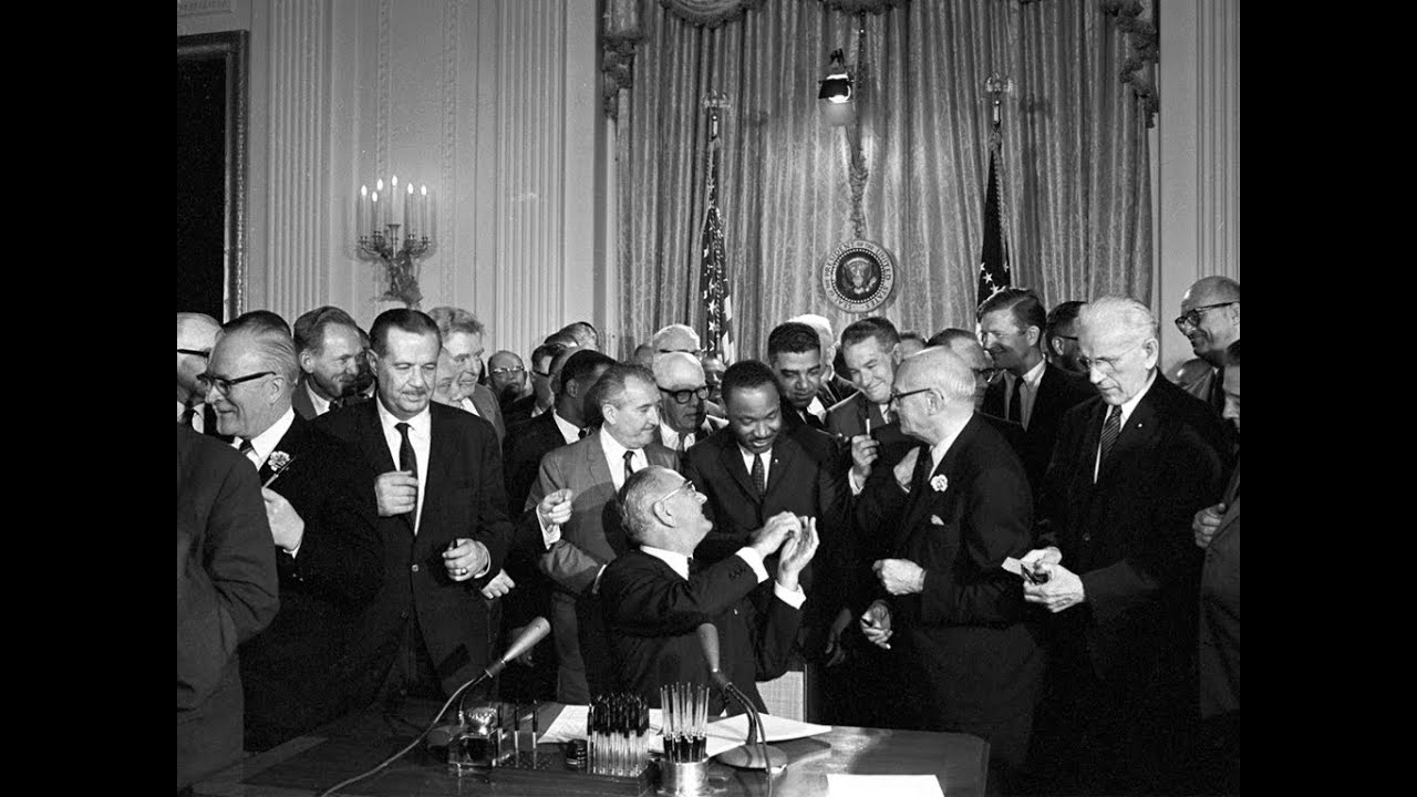 President Johnsons Remarks On The Signing Of Civil Rights Bill 7 2 64