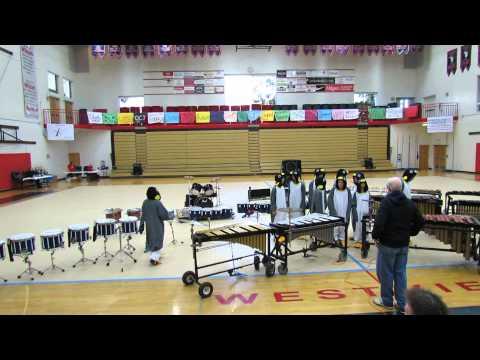 Alki Middle School Happy Feet Drumline 3.23.13 Act 1