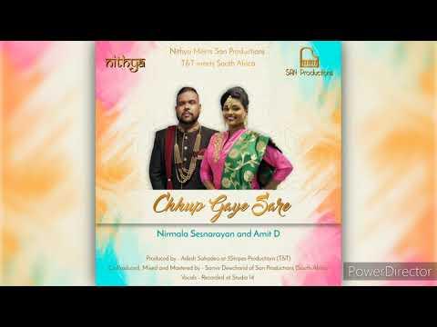 Chhup Gaye Sare - Nirmala Sesnarayan and Amit Dookram - Bollywood Cover 2020