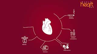 It is important to have a healthy heart for life! disease one of the major cause deaths worldwide. watch this video check some t...