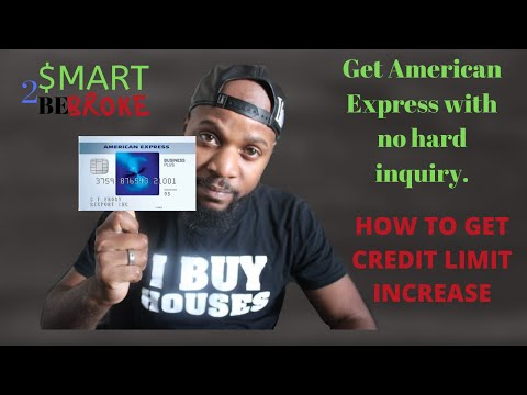 Credit Limit Increases | American Express Business With No Hard Inquiry | Building Business Credit