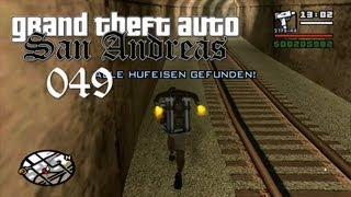 Grand Theft Auto San Andreas - Alle Hufeisen (#049)! - Horseshoes!