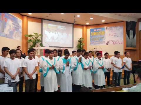 Migrants World Vision Center  Baptism 이주민다문화 세례식(1)