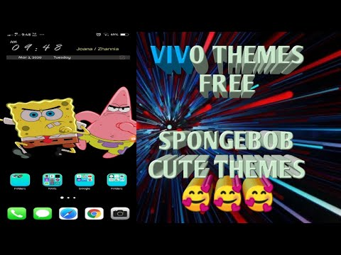 Vivo Theme Free (spongebob Cute) Download Free