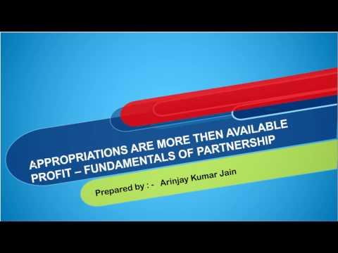 Distribution to Partners   Insufficient Profits
