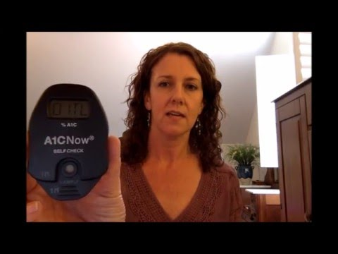 How to check your A1C at home - Fit4D Tutorial