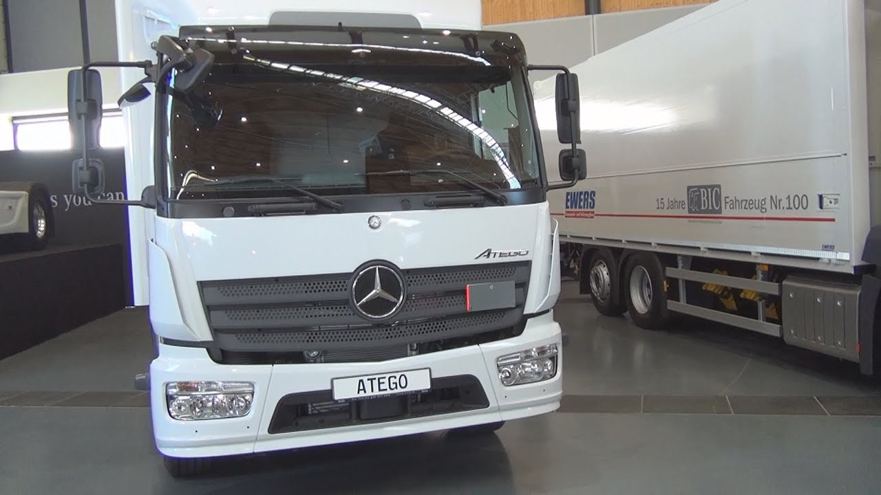 Mercedes-Benz Atego 1224 Junge (2016) Exterior and ...