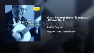 """Milan: Pavanes (from """"El maestro"""") - Pavana No. 6"""