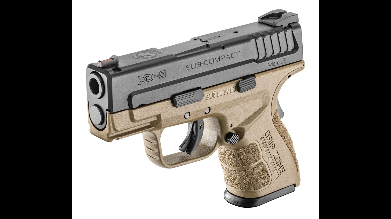 Springfield XD Mod 2 Review
