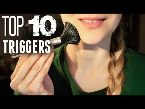 THE TOP 10 ASMR TRIGGERS