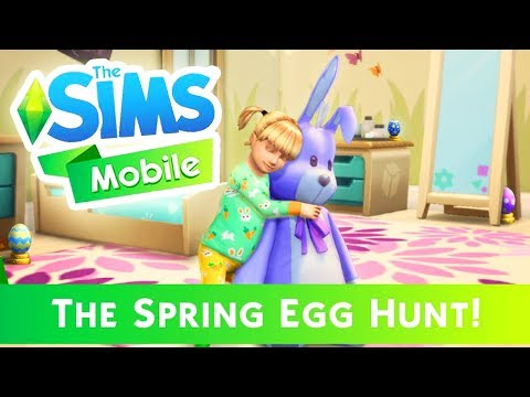 SPRING EGG HUNT EVENT | The Sims Mobile: EASTER LIMITED TIME