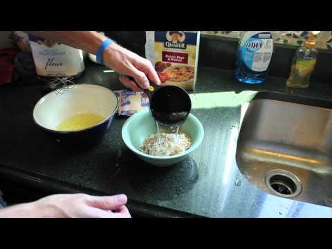 Egg White and Oatmeal Breakfast