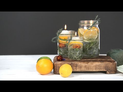 DIY Summer Citronella Candles   Southern Living
