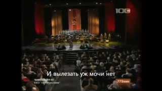 На поле танки грохотали with lyrics