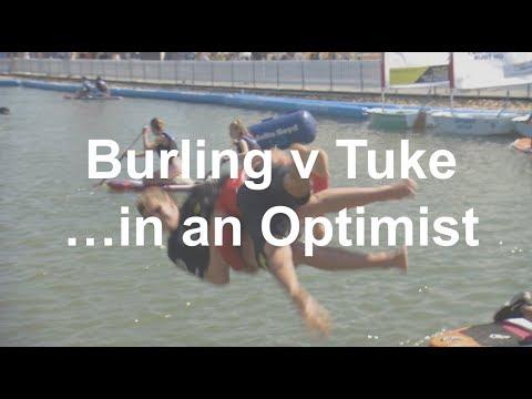 Pete Burling v Blair Tuke: Optimist edition! | Volvo Ocean Race