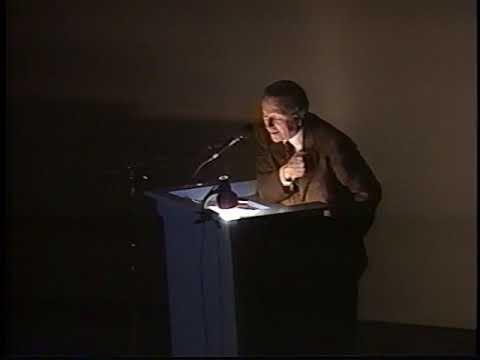 Rafael Moneo (December 2, 1998)