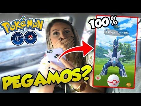 FIZEMOS HORA LENDÁRIA E VEIO UM 100% -  Pokémon Go Em Busca dos Melhores (Parte 107) thumbnail
