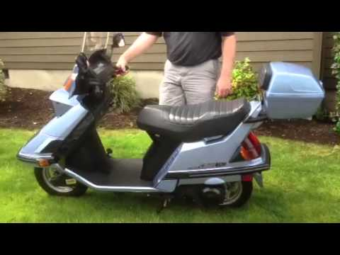 Honda Elite 150 Deluxe scooter for sale - YouTube