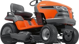 How to Change Oil on Husqvarna  Riding Lawn Mower / Garden Tractor with Kohler Engine